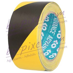 adhesif-marquage-sol-at8-50mm-noir-jaune