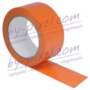 adhesif-pvc-orange-50mm