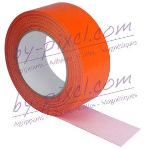 adhesif-toile-orange-50mm