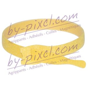 attache-cable-velcro-jaune