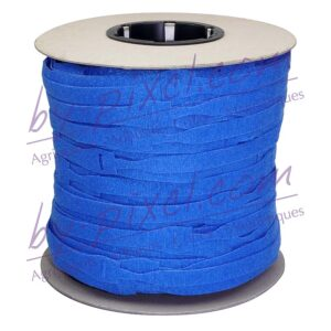 attache-cable-velcro-rouleau-bleu