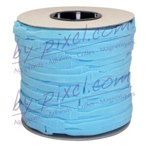 attache-cable-velcro-rouleau-bleu-clair