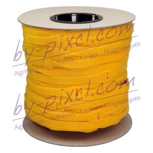 attache-cable-velcro-rouleau-jaune
