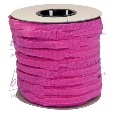 attache-cable-velcro-rouleau-rose