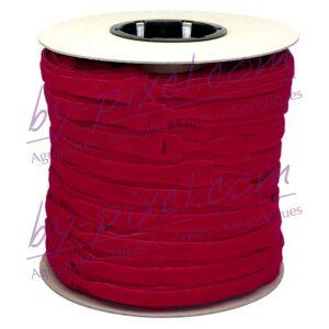 attache-cable-velcro-rouleau-rouge
