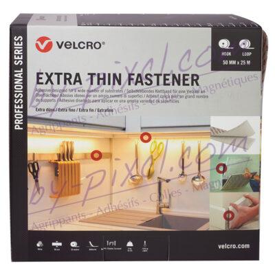auto-agrippant-adhesif-extra-fin-de-marque-velcro-blanc-50mmx25m-2