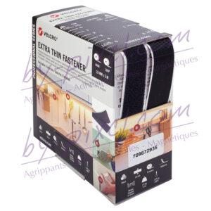 auto-agrippant-adhesif-extra-fin-de-marque-velcro-noir-20mmx5m
