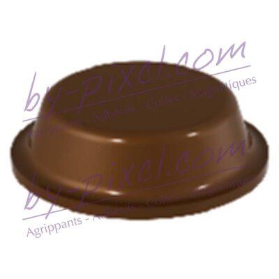 butee-ronde-12.7x3.5-marron