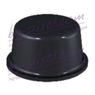 butee-ronde-12.7x6.2-noir