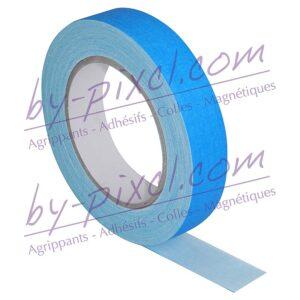 gaffer-toile-bleu-fluo-25mm
