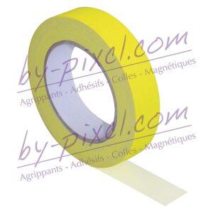 gaffer-toile-jaune-fluo-25mm