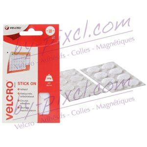 pastille-velcro-ronde-16-blanche