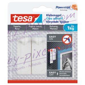 tesa-powerstrips-delicate-clou-adhesif-papier-peint-platre-1kg