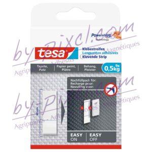 tesa-powerstrips-delicate-languettes-adhesives-papier-peint-platre-0-5kg