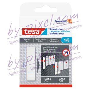 tesa-powerstrips-delicate-languettes-adhesives-papier-peint-platre-1kg