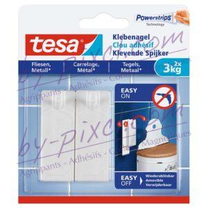 tesa-powerstrips-lisse-clou-adhesif-carrelage-metal-3kg