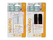 Auto-agrippant de marque VELCRO® avec adhésif pour tissu