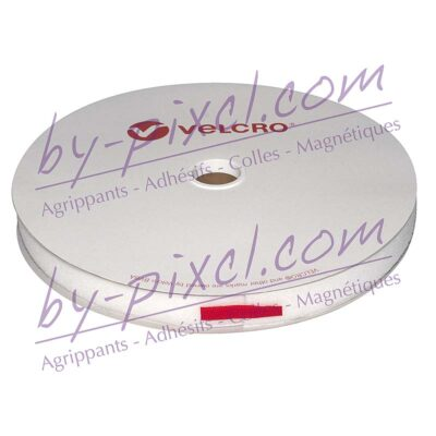 velcro-adhesif-ps14-blanc-25mm-boucle