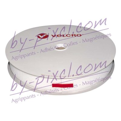 velcro-adhesif-ps14-blanc-38mm-boucle