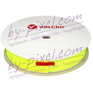 velcro-adhesif-ps14-jaune-fluo-crochet