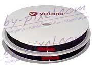 Auto-agrippant de marque VELCRO® avec adhésif PS14 noir