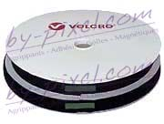 Auto-agrippant de marque VELCRO® avec adhésif PS18 noir