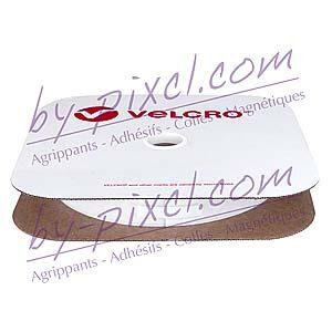 velcro-adhesif-ps30-blanc-25mm-champignon