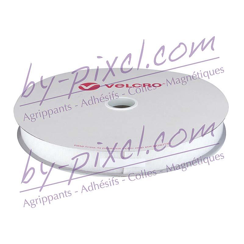 velcro-adhesif-ps30-blanc-25mm-crochet