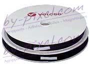 Auto-agrippant de marque VELCRO® avec adhésif PS30 noir