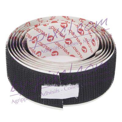 velcro-adhesif-ps30-noir-metre-25mm-c