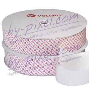 velcro-adhesif-ps51-blanc-50mm-bc-plastique