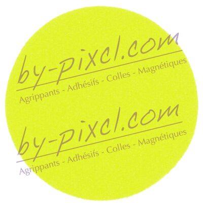 velcro-ecusson-cercle-jaune-fluo
