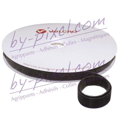 velcro-one-wrap-noir-16mm