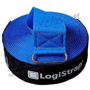 velcro-sangle-logistrap-bleu